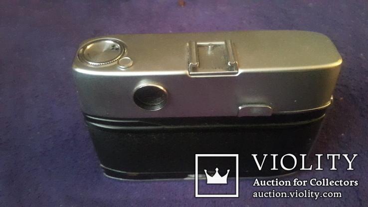 Ретро фотоаппарат Agfa  в чехле, фото №5