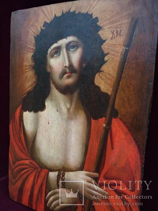 Икона Христос в Терновом Венце, фото №5