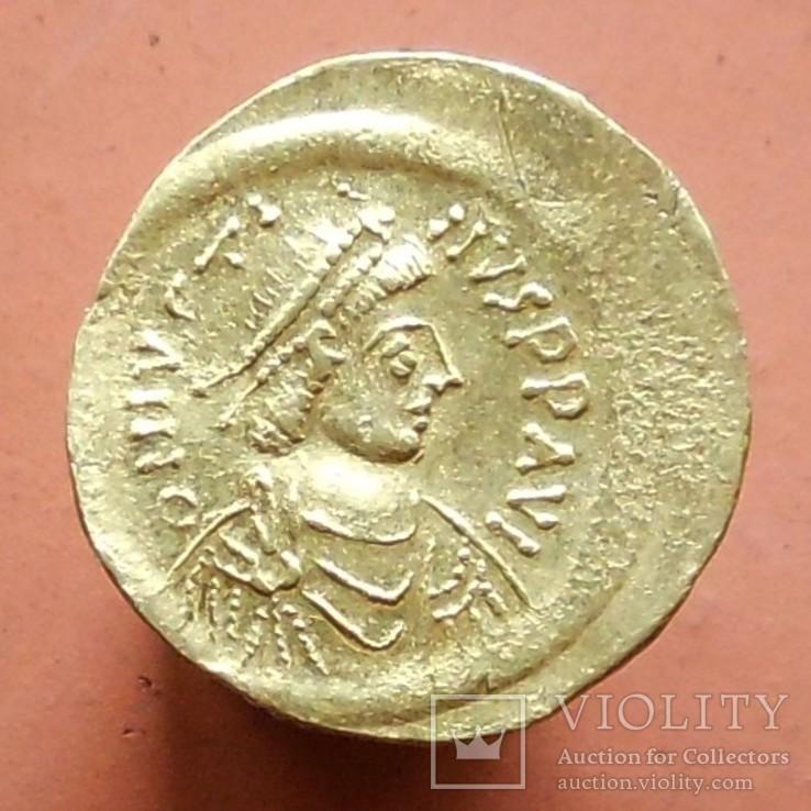 Византия: Юстин II (565-578) семис (2,23 г)