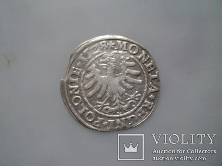 Грош 1528 г, фото №3