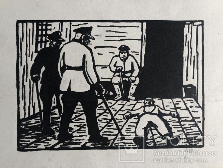 Леопольд Левицький, графіка