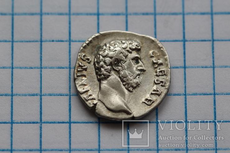 Элий Вер в ранге цезаря денарий RIC 439