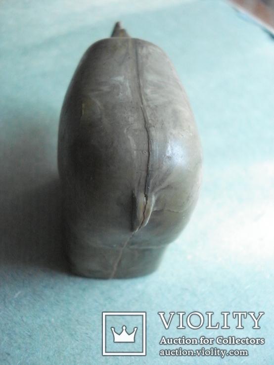 Точилка для карандашей. Носорог. Винтаж. СССР, фото №6