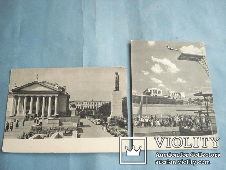 Сталинград 1954 год. 8 открыток одним лотом., фото №3