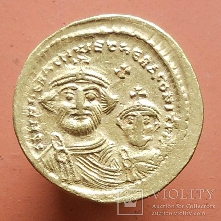 Ираклий I (610-641 гг) солид