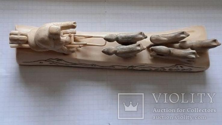 Упряжка кость