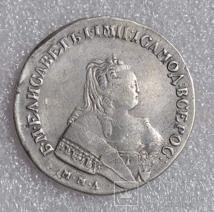 Рубль 1749г. ММД