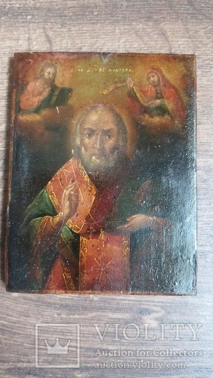 Икона Святого Николая 19 век, фото №10
