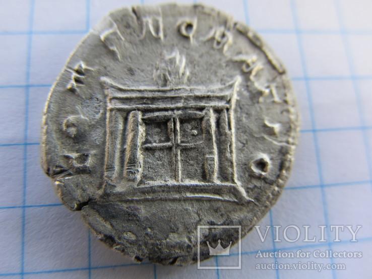 Реституционный антониниан Траяна Деция в честь Божественного Веспасіана., фото №3