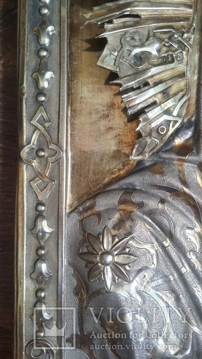 Икона Казанская Богородица в серебре 84* финифти, фото №7