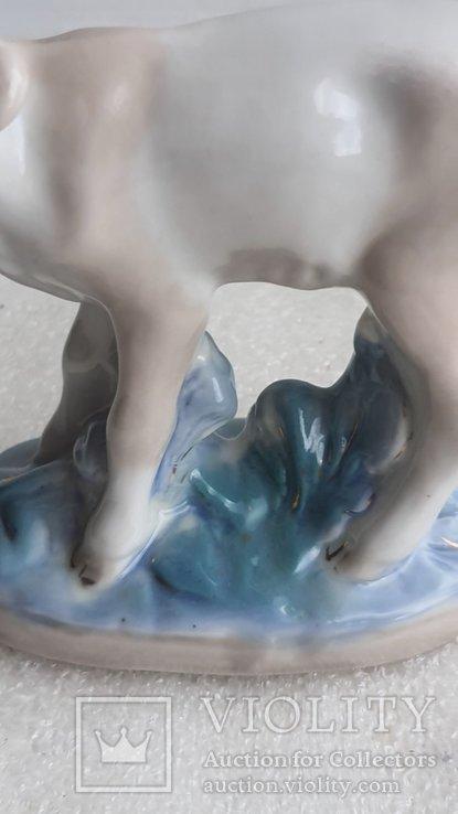 Статуэтка телёнок Старая Гжель, фото №11