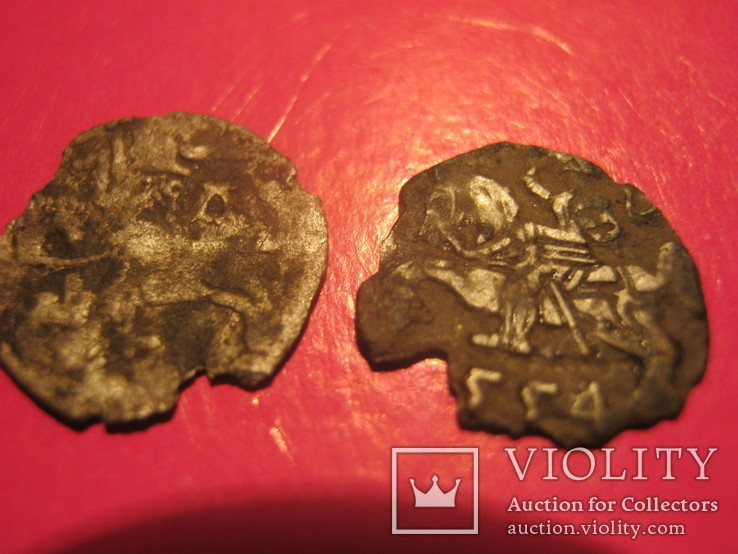 Срібні динари 1554 року,15??, фото №2