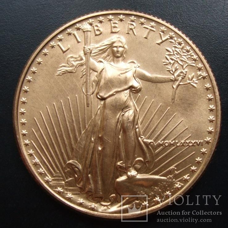 25 долларов 1986 г. США