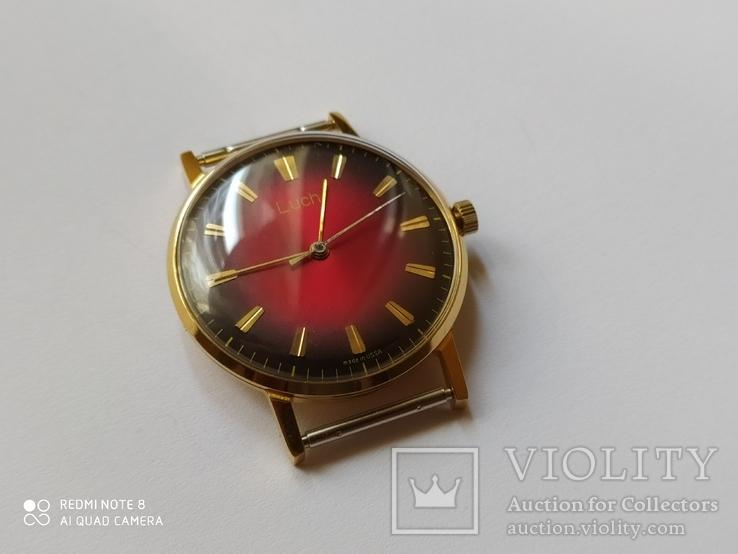 Часы Луч 2209 позолоченные