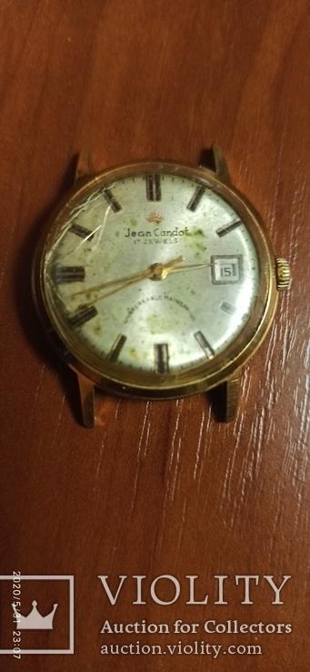 Часы Полет jean cardot 17 jewels мехвника Аu 20 времен СССР