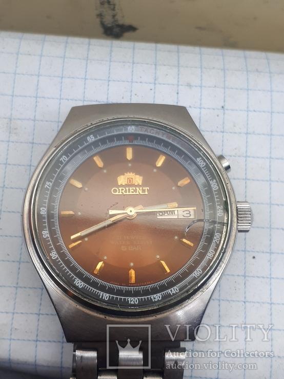 Часы Orient   автоподзовод водонепроницаемые
