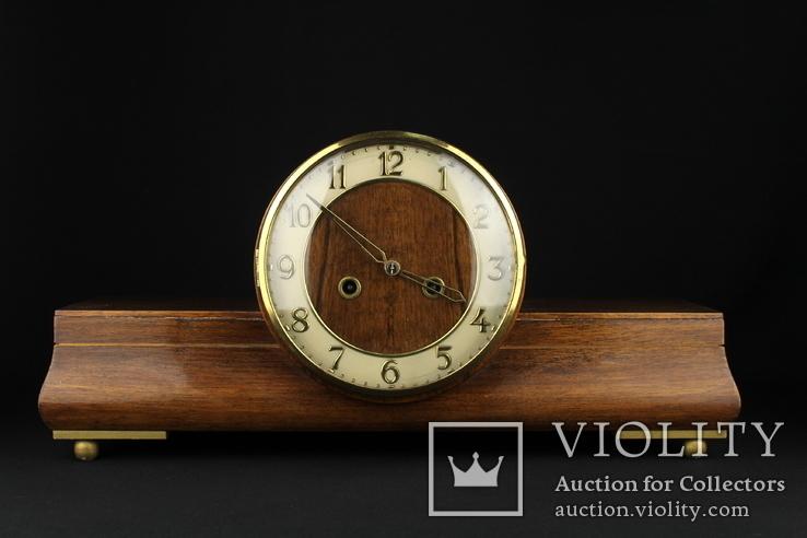 Каминные часы Gustav Becker. Винтаж. Германия