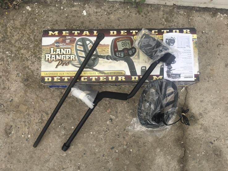 АКЦИЯ Bounty Hunter Land Ranger Pro с 11 DD катушкой Оригинал США Гарантия СКИДКИ, фото №3