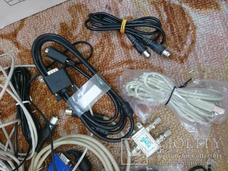 Разные провода ,кабели ,переходники и др., фото №4