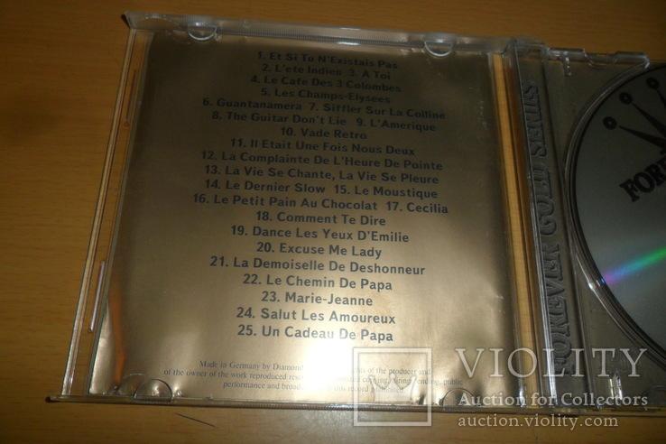 Диск CD сд Joe Dassin Forever Gold, фото №7