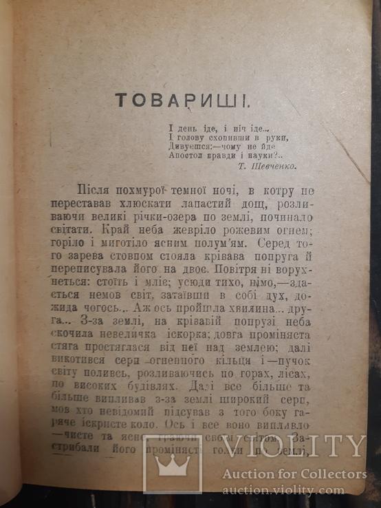 1918 Панас Мирний - Товаришi Полтава Прижизненное издание, фото №3