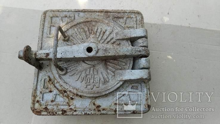 Чугунная дверца (для печки), фото №2