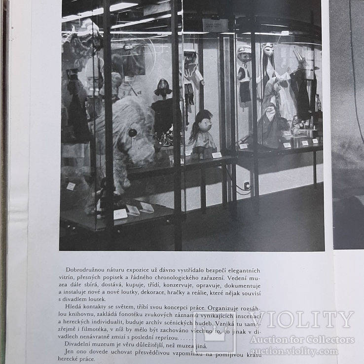 """SVET LOUTEK"" Мир  Марионеток. Куклы. 1978 год., фото №11"