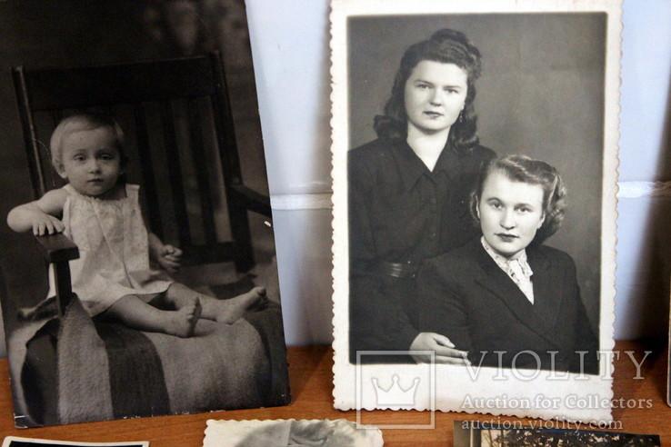 Лот черно-белых фото гражданских.50-60-х годов., фото №3