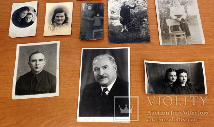 Лот черно-белых фото гражданских.50-60-х годов., фото №7