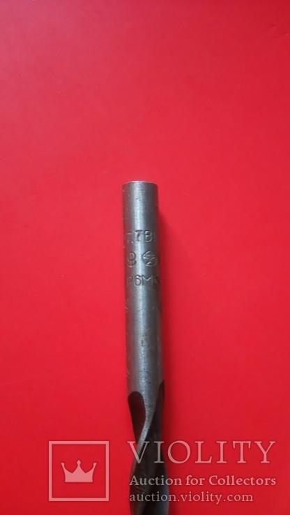 Сверло советское новое диаметр 7,7 мм Знак качества, фото №5
