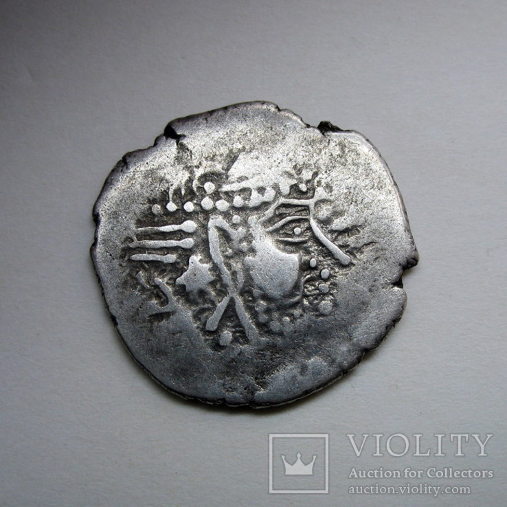 Индия, Синд, королевство Гурджура, AR драхма (ок. 570-712 гг)