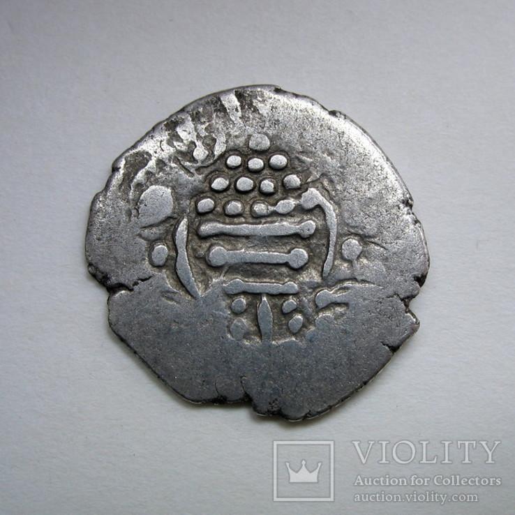 Индия, Синд, королевство Гурджура, AR драхма (ок. 570-712 гг), фото №3