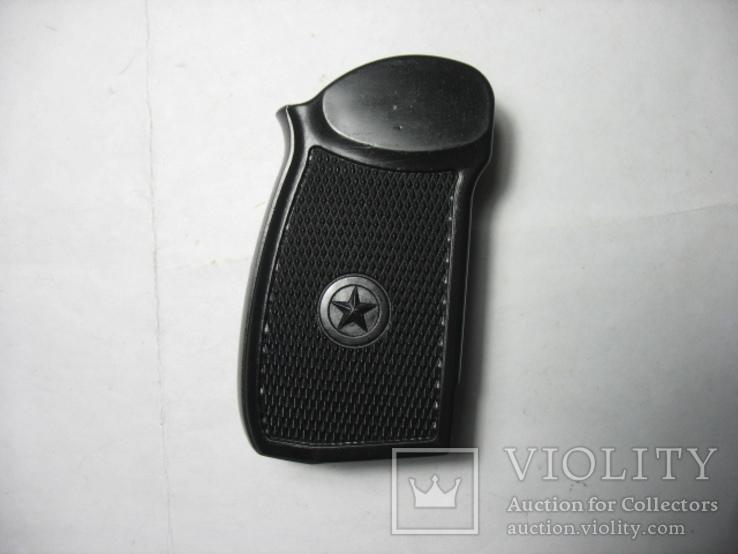 Накладка рукояти как оригинальная на ПМ-ме на МР-654К 20,28 серия широкая рамка, фото №4