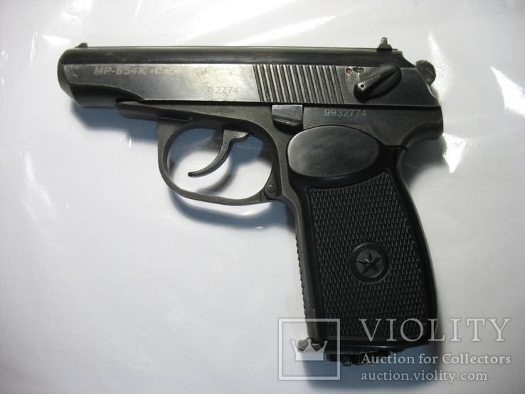 Накладка рукояти как оригинальная на ПМ-ме на МР-654К 20,28 серия широкая рамка, фото №6