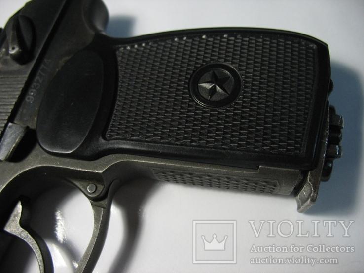 Накладка рукояти как оригинальная на ПМ-ме на МР-654К 20,28 серия широкая рамка, фото №7