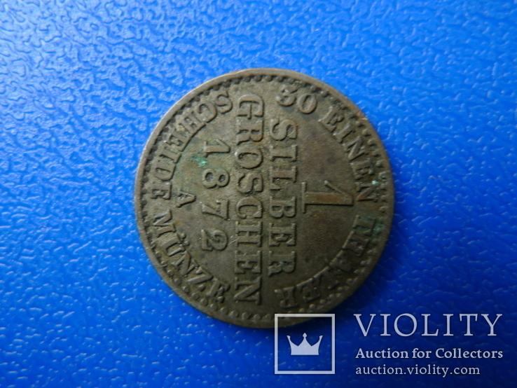 1 грошен 1872 А, фото №6
