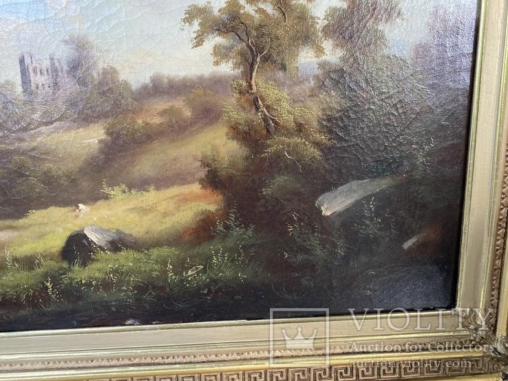 Пейзаж, Западный художник; романтизм, фото №6
