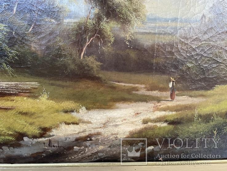 Пейзаж, Западный художник; романтизм, фото №7