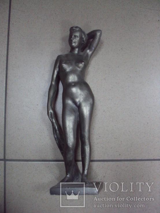 Фигура девушка ню обнаженная шпиатр ленинград скульптура, фото №9