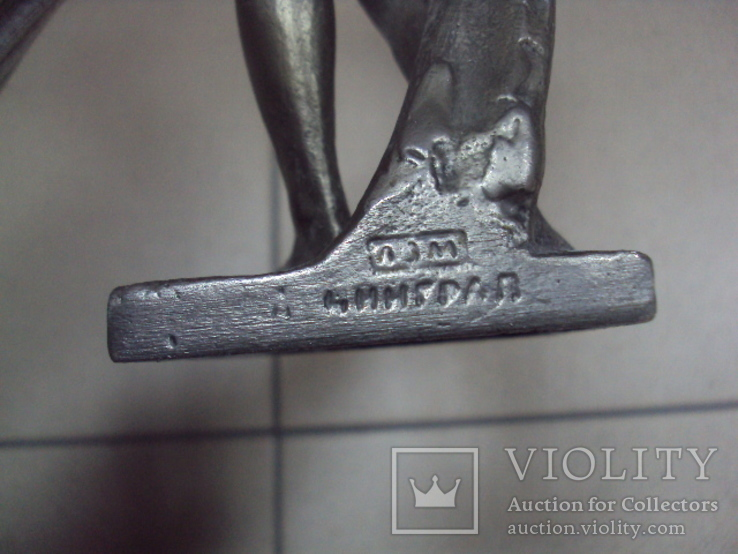 Фигура девушка ню обнаженная шпиатр ленинград скульптура, фото №11