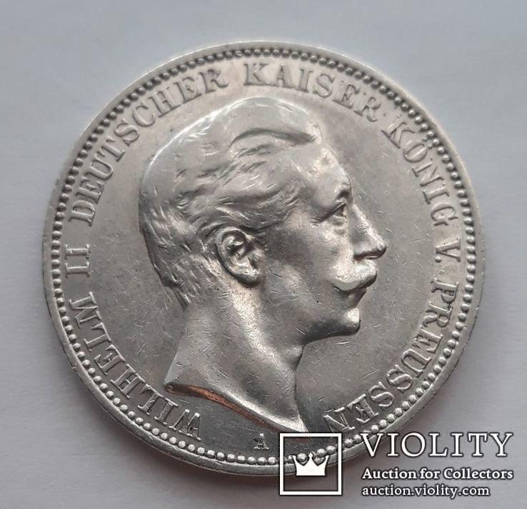 3 марки 1911г.Вильгельм2  Пруссия, фото №2