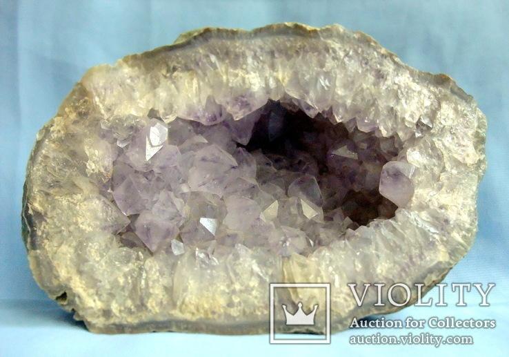 Аметист жеода - друза кристаллы вес 1461 гр., фото №4