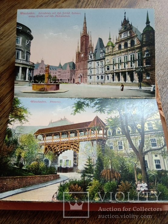 "Набор открыток "" Erinnerunq an Wiesbaden"", фото №4"