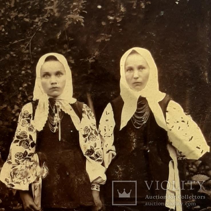 1915 год .Фото ,отправленное мужу в Армию., фото №2