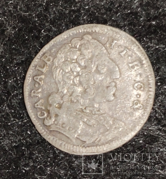 3 крейцера Бавария 1737 год, фото №2