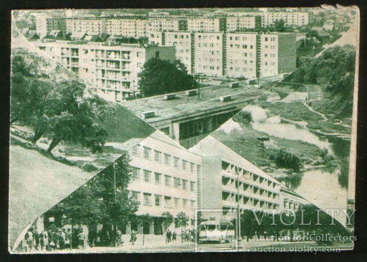1969 Почтовый конверт ХНК Литовская ССР Паневежис, мультивидовой, фото №3