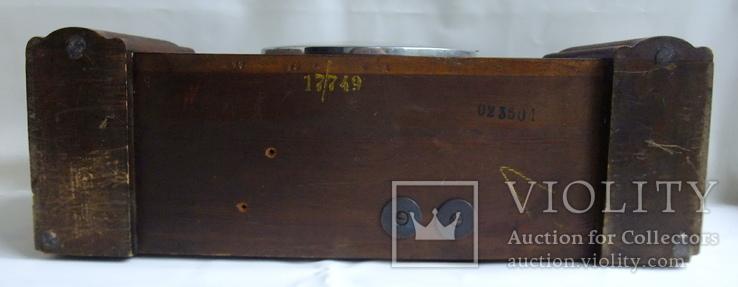 Каминные часы с боем Junghans 1934 г. W278 Германия., фото №6