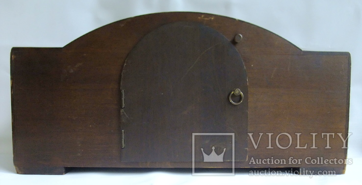 Каминные часы с боем Junghans 1934 г. W278 Германия., фото №8