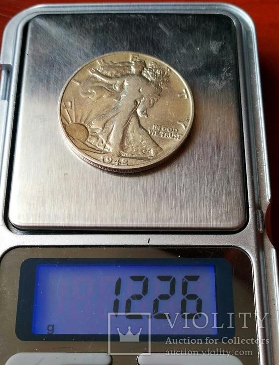 Півдолара 1942 р. Свобода, фото №8