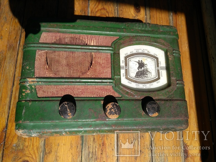 Ламповый радиоприемник СССР, фото №13